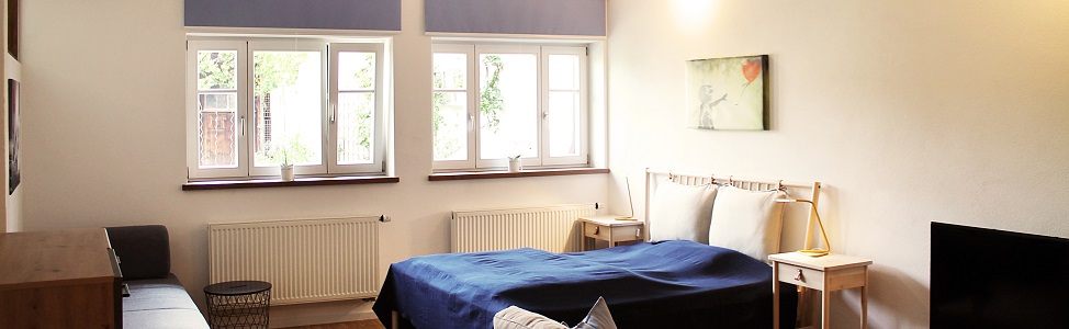 Bett Ferienwohnung 17 Weilheim